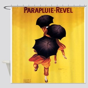 Parapluie-Revel, Umbrellas, Vintage Poster Shower