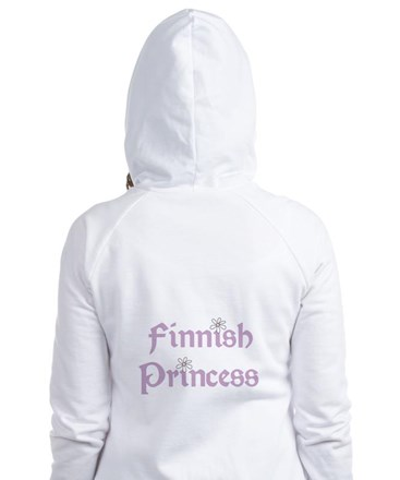 Finnish Princess Fitted Hoodie