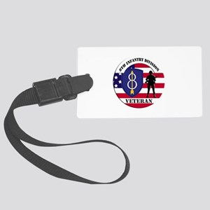 8th Infantry Division Luggage Tag