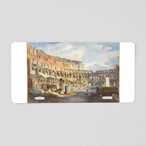 Ippolito Caffi - Interior of the Colosseum Aluminu