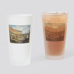 Ippolito Caffi - Interior of the Colosseum Drinkin