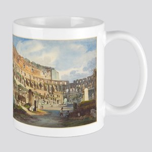 Ippolito Caffi - Interior of the Colosseum Mug