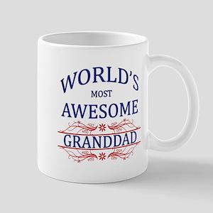World's Most Awesome Granddad Mug