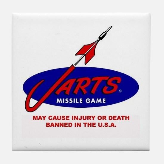 Jarts & Lawn Darts Tile Coaster