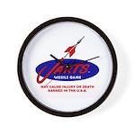 Jarts & Lawn Darts Wall Clock