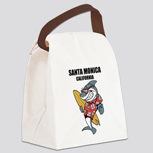 Santa Monica, California Canvas Lunch Bag