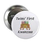 Twins First Kwanzaa Button