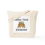 Twins First Kwanzaa Tote Bag