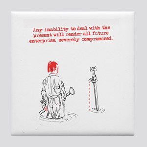 Any Inability To Deal Tile Coaster