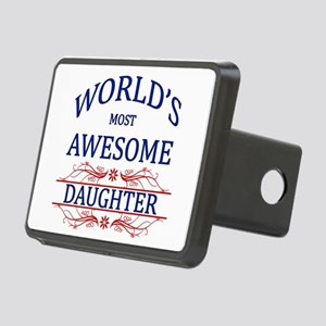 World's Most Awesome Daughter Rectangular Hitch Co