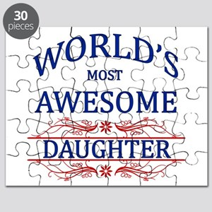 World's Most Awesome Daughter Puzzle