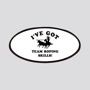 I've got Team Roping skills Patches