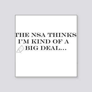 The NSA Thinks I'm Kind of a Big Deal Sticker