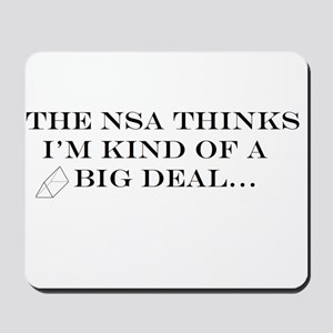 The NSA Thinks I'm Kind of a Big Deal Mousepad
