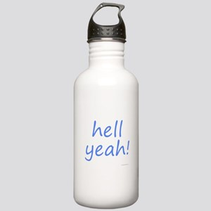 hell yeah! blue Stainless Water Bottle 1.0L