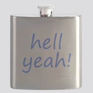 hell yeah! blue Flask