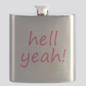hell yeah! pink Flask