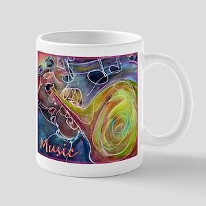 Music, colorful art Mug