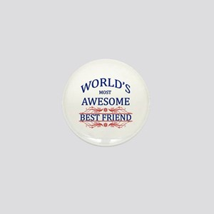 World's Most Awesome Best Friend Mini Button