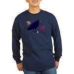 Nevermore Long Sleeve Dark T-Shirt