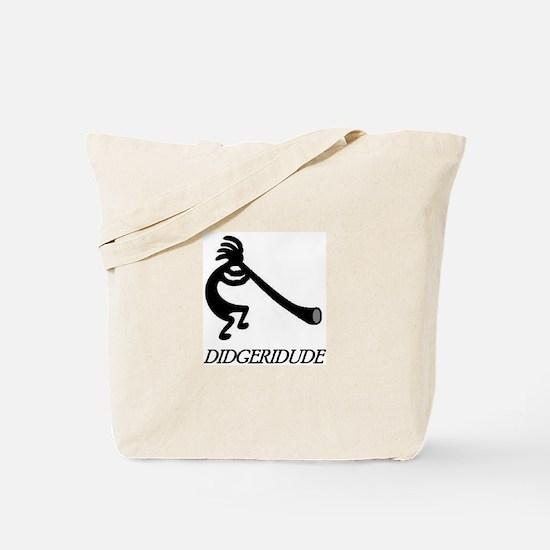 Didgeridude-didgeridoo player Tote Bag