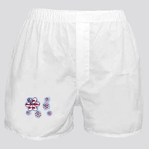 USA Flowers (sc) Boxer Shorts