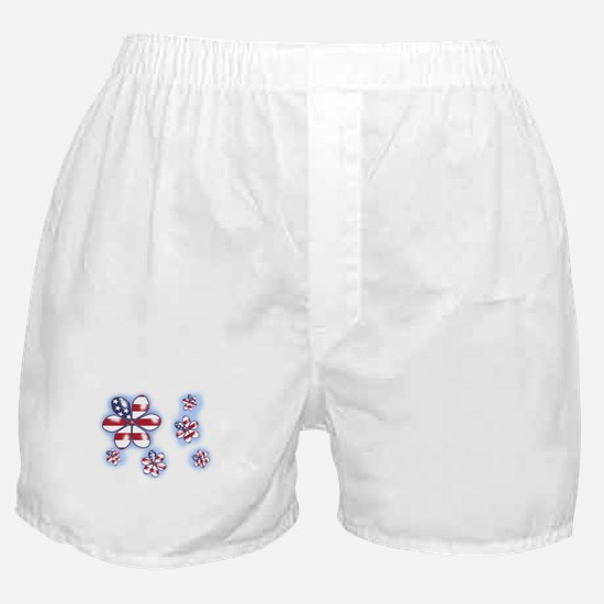 USA Flowers (sc) Boxer Shorts