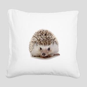 Rosie hedgehog Square Canvas Pillow