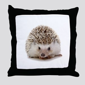 Rosie hedgehog Throw Pillow