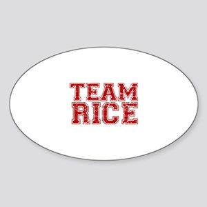 Team Rice Sticker (Oval)