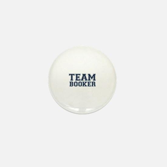 Team Booker Mini Button