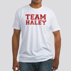 Team Haley Fitted T-Shirt