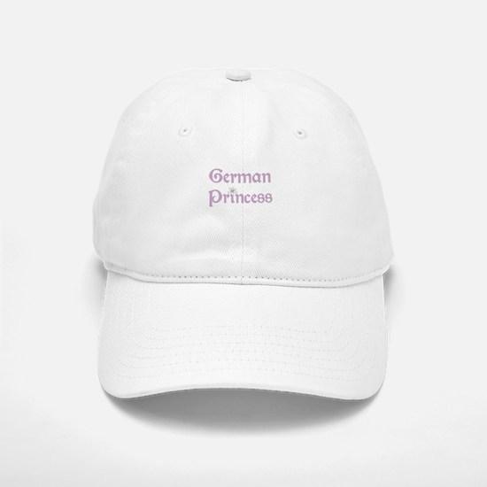 German Princess Baseball Baseball Cap