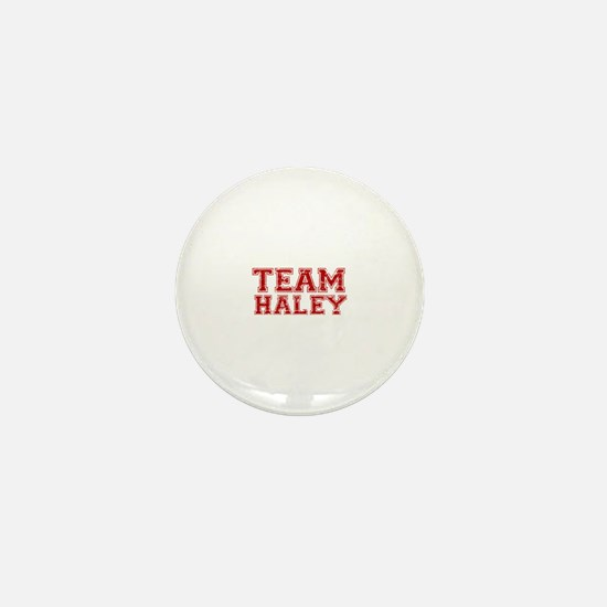 Team Haley Mini Button