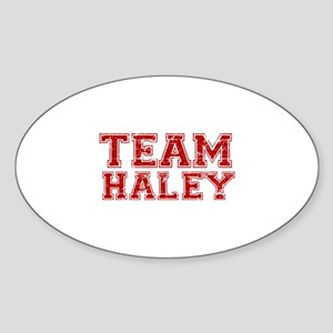 Team Haley Sticker (Oval)
