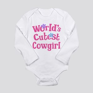 Worlds Cutest Cowgirl Body Suit