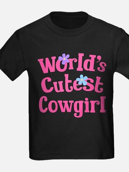 Worlds Cutest Cowgirl T-Shirt
