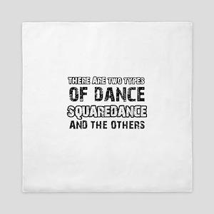 Squaredance designs Queen Duvet