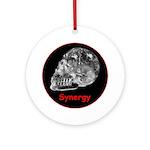 Crystal Skull Synergy Ornament (Round)