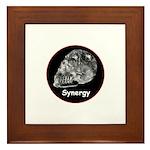 Crystal Skull Synergy Framed Tile