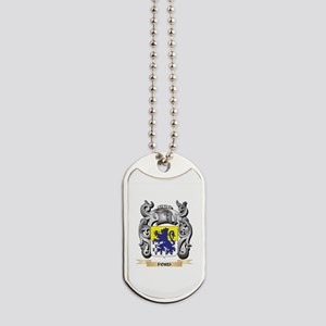 Ford Coat of Arms - Family Crest Dog Tags