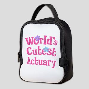 World's Cutest Actuary Neoprene Lunch Bag