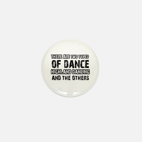Highland Dancing designs Mini Button