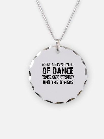Highland Dancing designs Necklace