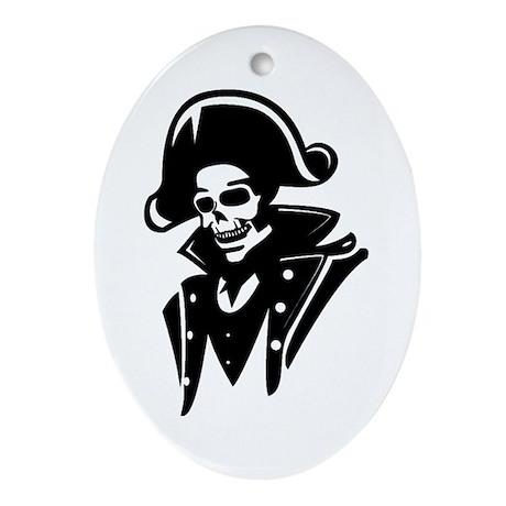 Captain Ornament (Oval)