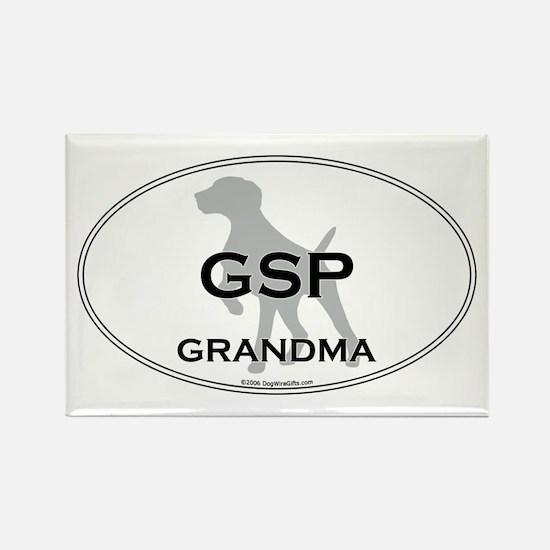 GSP GRANDMA Rectangle Magnet