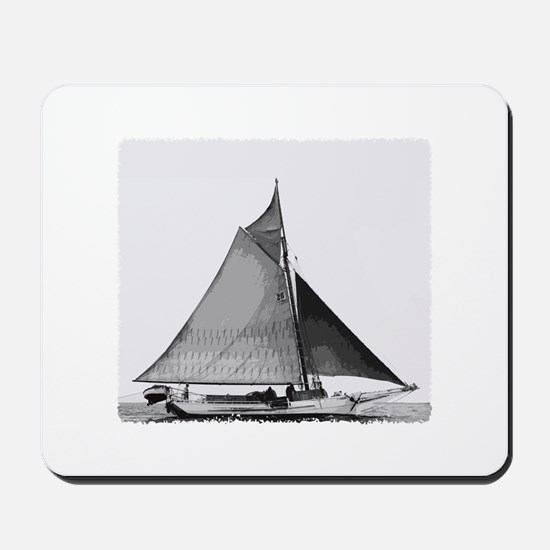 Chesapeake Bay Skipjack Oyster Boat Mousepad