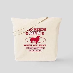 Australian Shepherd mommy designs Tote Bag