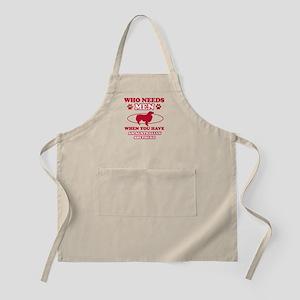 Australian Shepherd mommy designs Apron