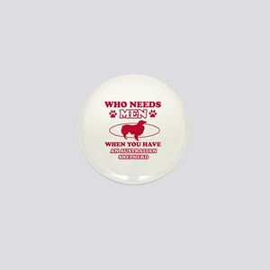 Australian Shepherd mommy designs Mini Button